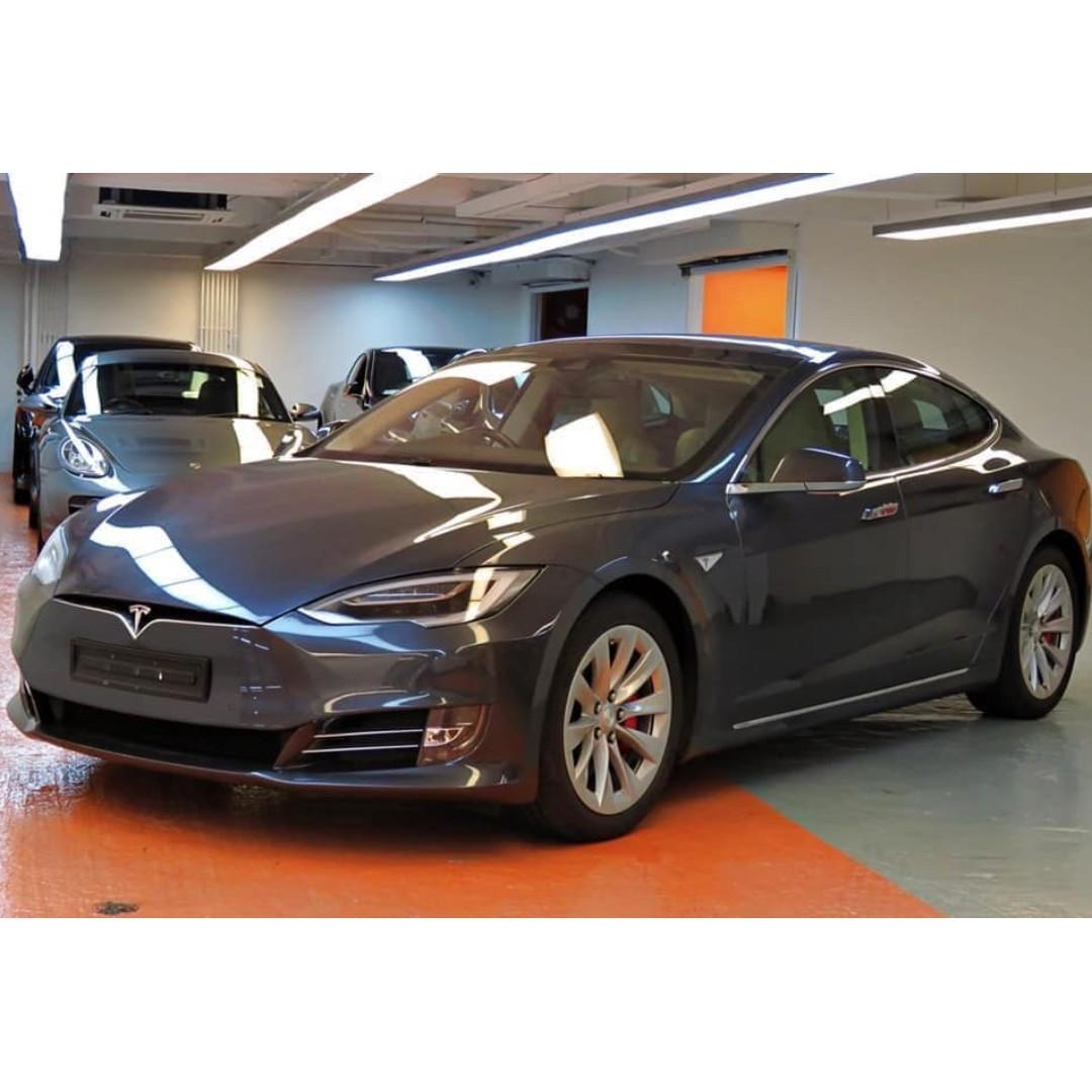 2016 Tesla Model S P90DL 灰色