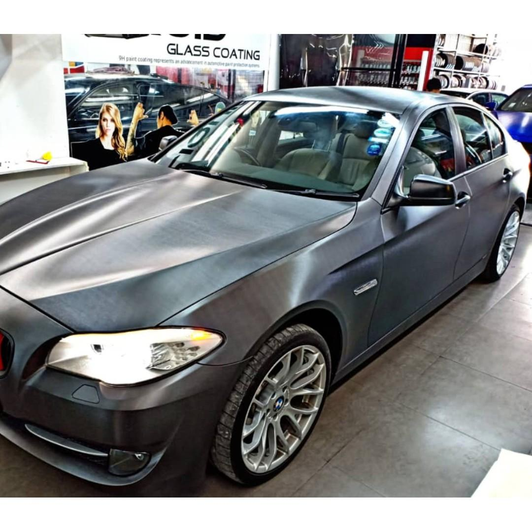 BMW FULL CAR WRAPPING
