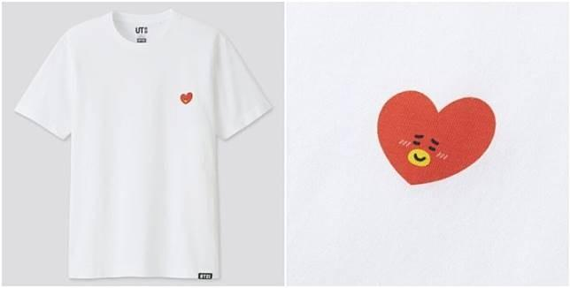 BTS BT21 × UNIQLO T-SHIRT TEE TATA ORIGINAL FROM UNIQLO STORE LIMITED EDITION #BTS #BT21 #TATA #BOYWITHLUV#BTSBT21