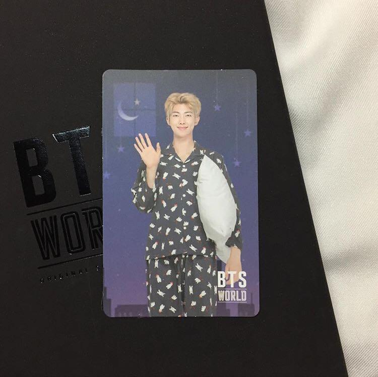 bts world namjoon game coupon