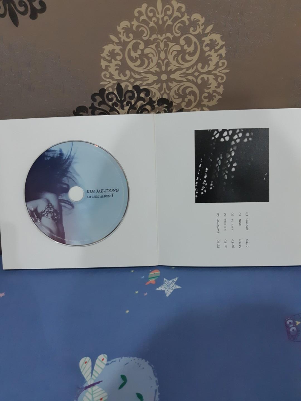 CD album Kim Jaejoong: The 1st mini album (Asli dari Korea)