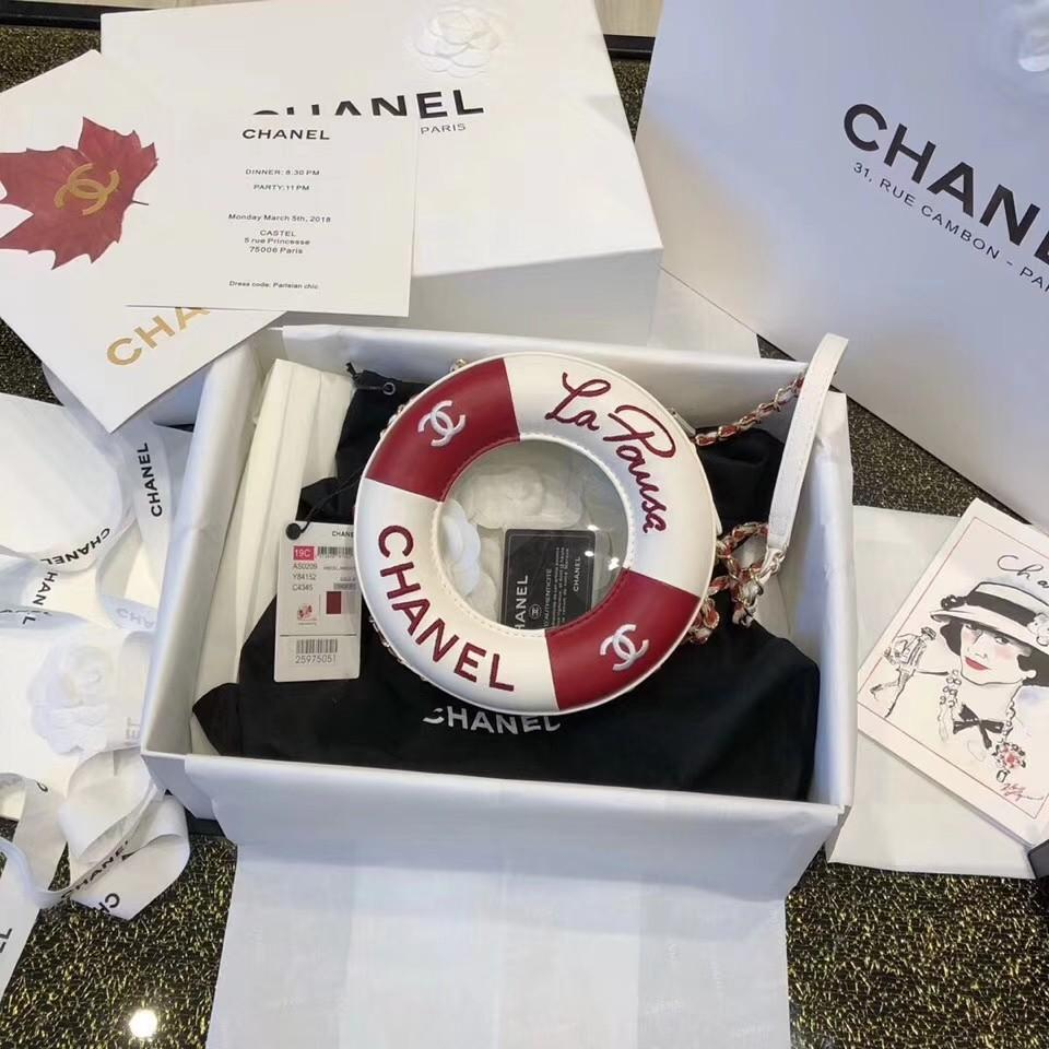 Chanell round bag