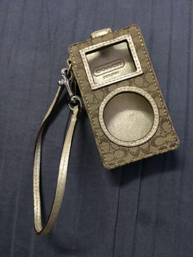 Coach iPod case