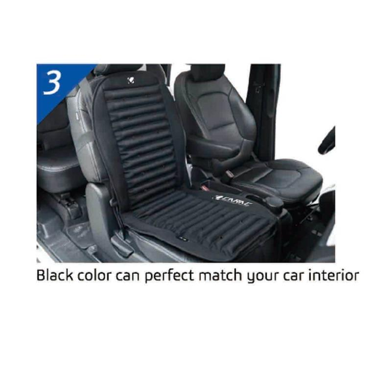 Cooling Car Seat Cushion with 3D Design & Cooling Fan Control – 12v DC