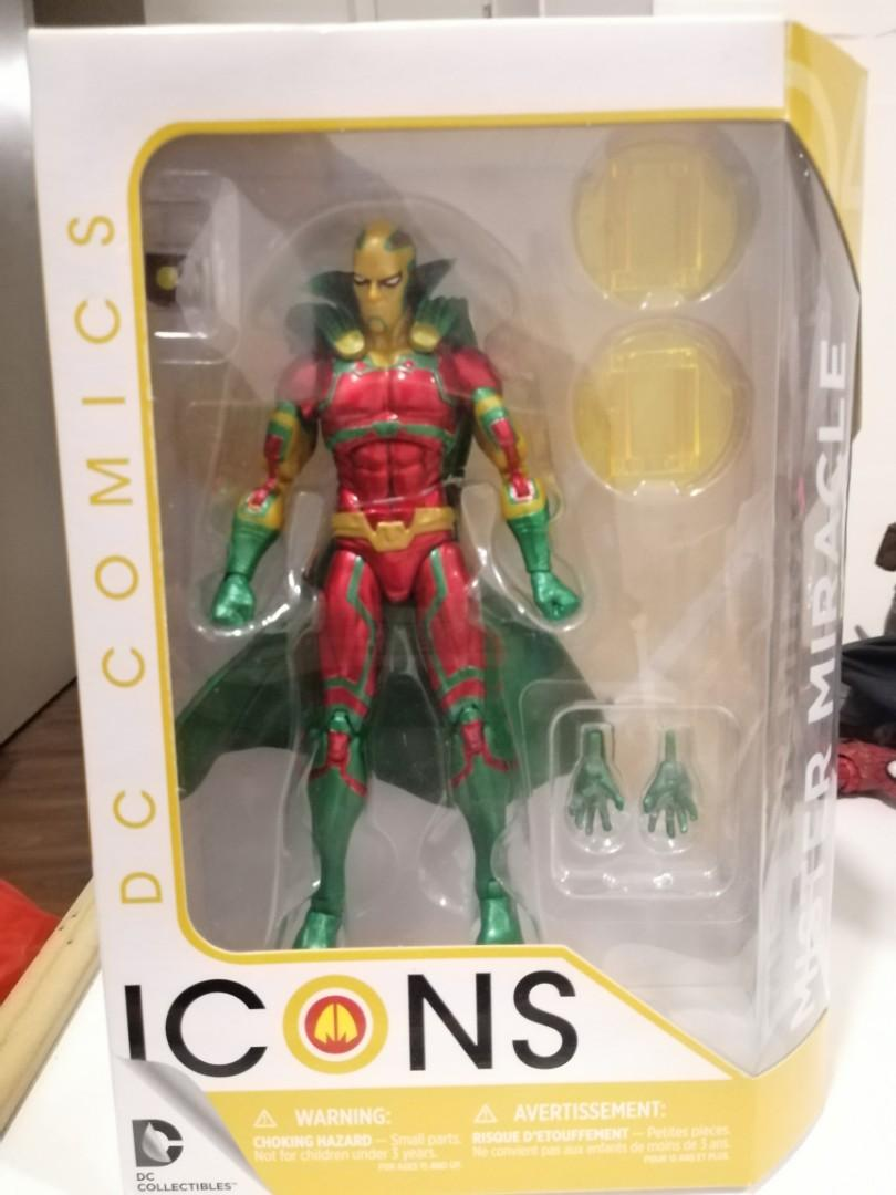 DC Icons Mr. MIRACLE 6 inch MISB