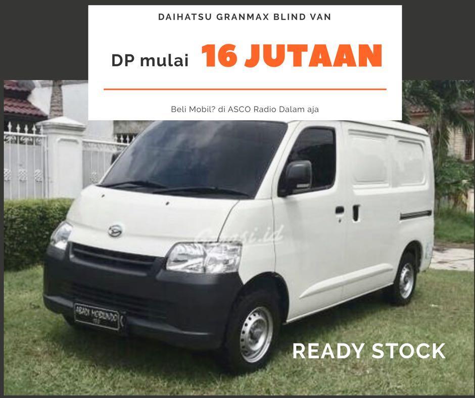 DP MURAH Daihatsu Granmax Blind Van mulai 16 jutaan. Daihatsu Pamulang