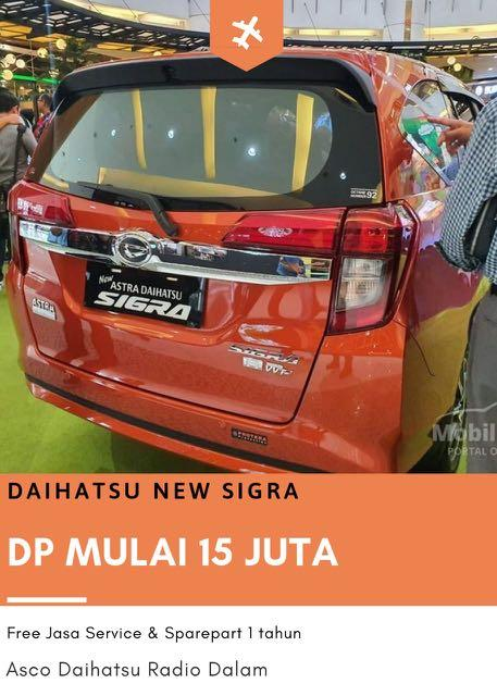 DP MURAH NEW Daihatsu Sigra mulai 15 jutaan. Daihatsu Pamulang