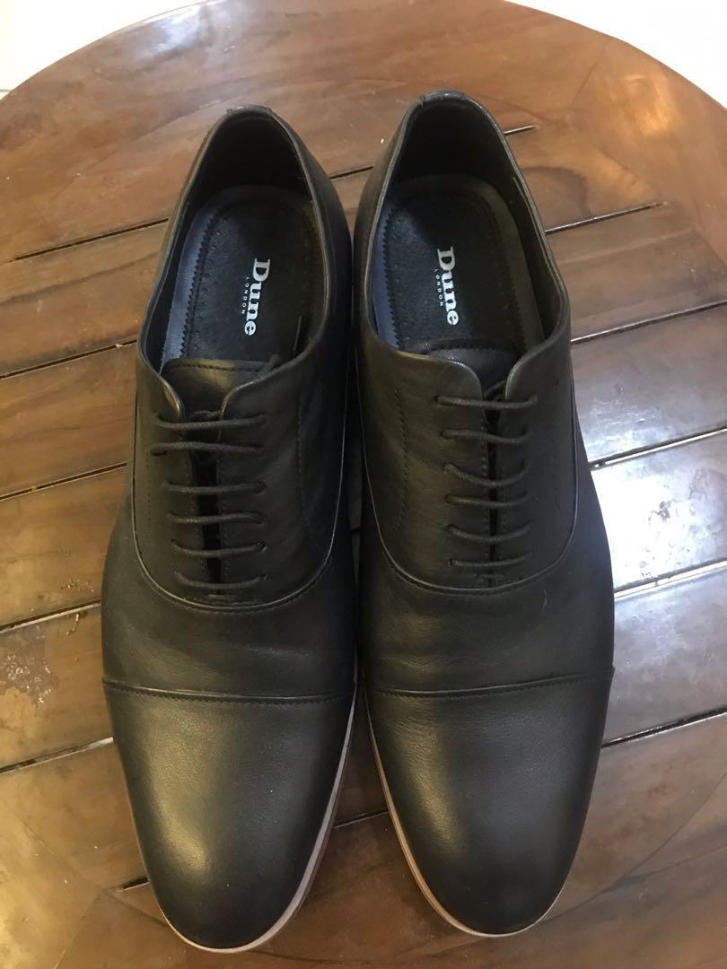Dune London Black Shoes