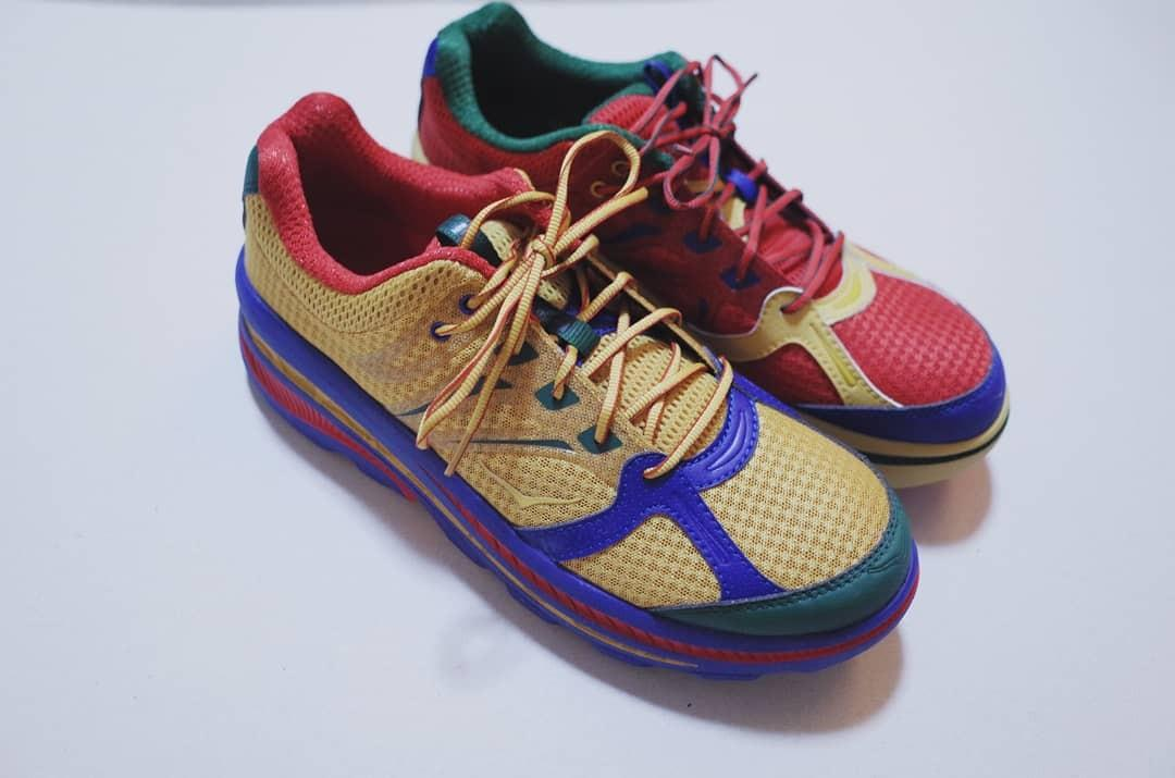 🔸二手九成新🔸Engineeredgarments x Hokaoneone us9.5