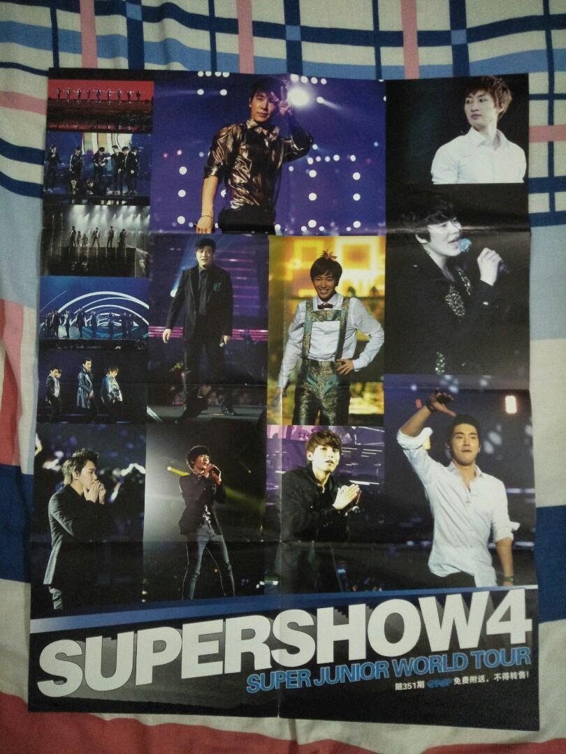 EPOP Poster _ Super Junior Showcase in Malaysia X 罗智祥