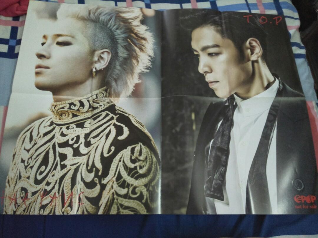 EPOP Poster _ Super Juniors Showcase 5 in Malaysia X TaeYong & TOP(BIGBANG)