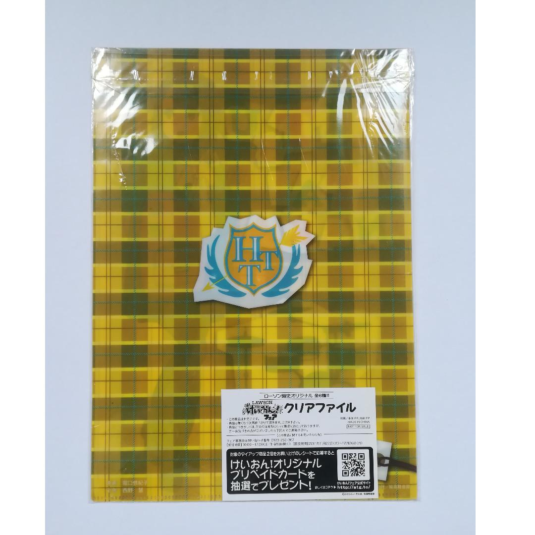 (Exclusive) K-ON! x Lawson - Ritsu Tainaka - Clear File
