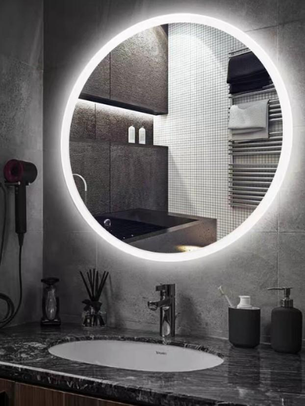 FAERIE LED Round Wall Mirror