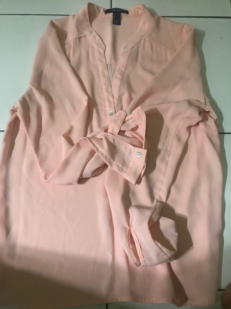 FOREVER 21 pink salmon