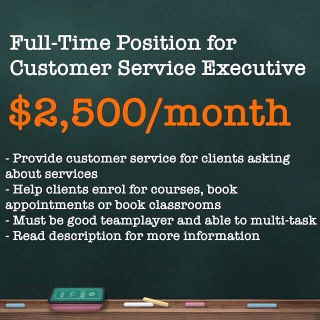 FT Customer Service Executive