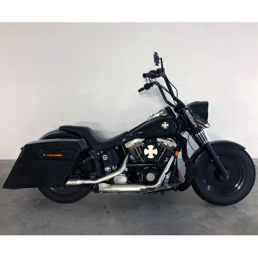 Harley Davidson Softail Bagger Motorcycles Motorcycles For Sale Class 2 On Carousell