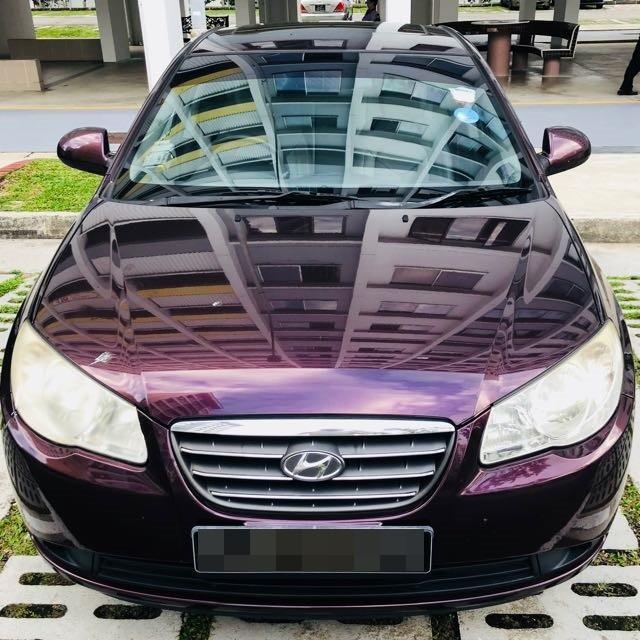 Hyundai Avante for rent!