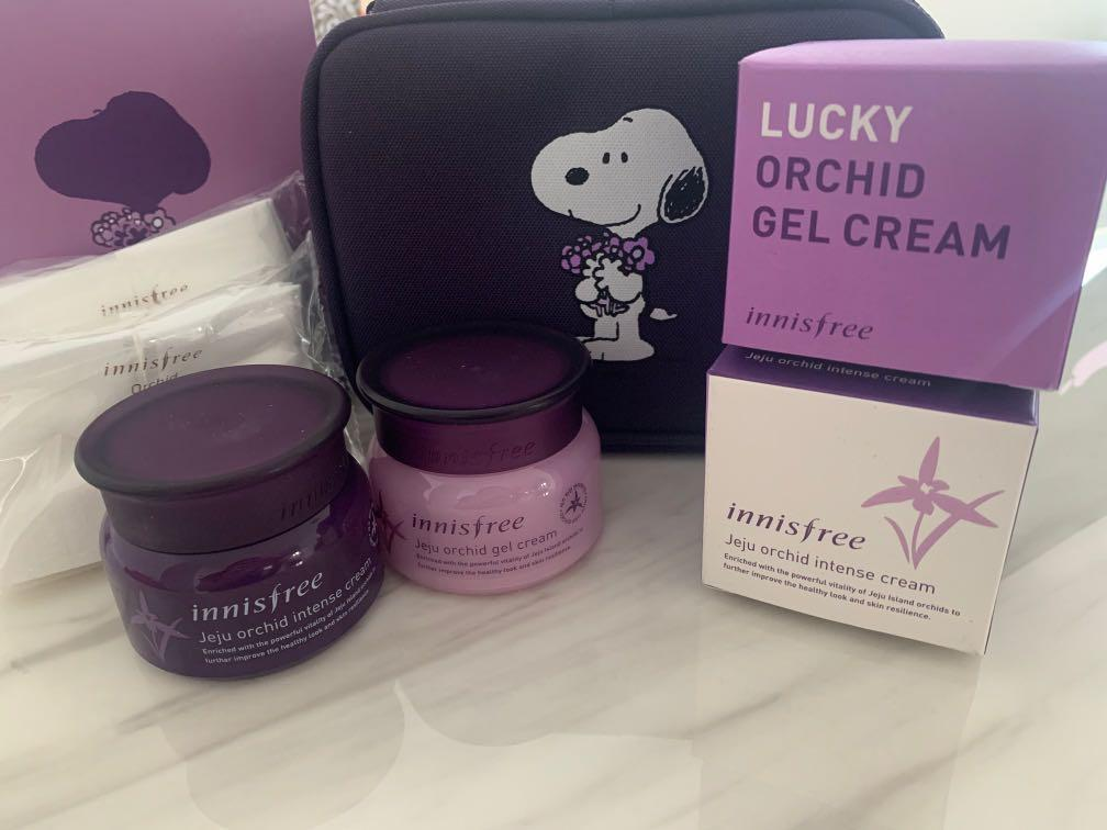 Innisfree x Snoopy Limited Edition Orchid Lucky Box