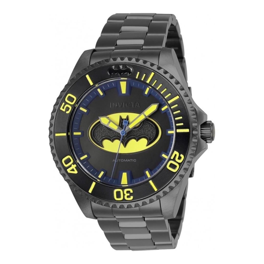全新Invicta限量蝙蝠俠自動機械錶DC聯名款免運費