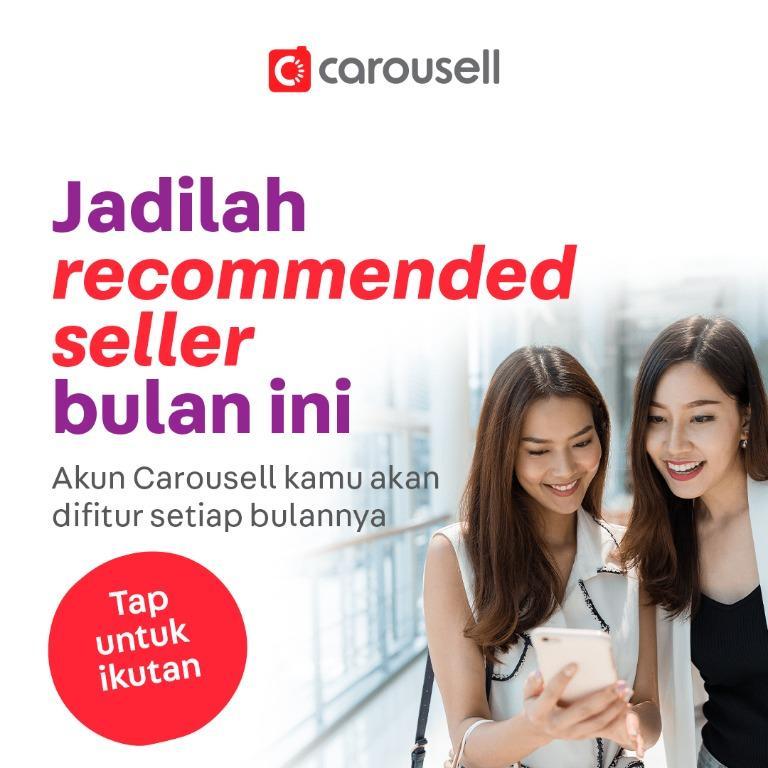 Jadilah Carousell Recommended Seller bulan Oktober😍