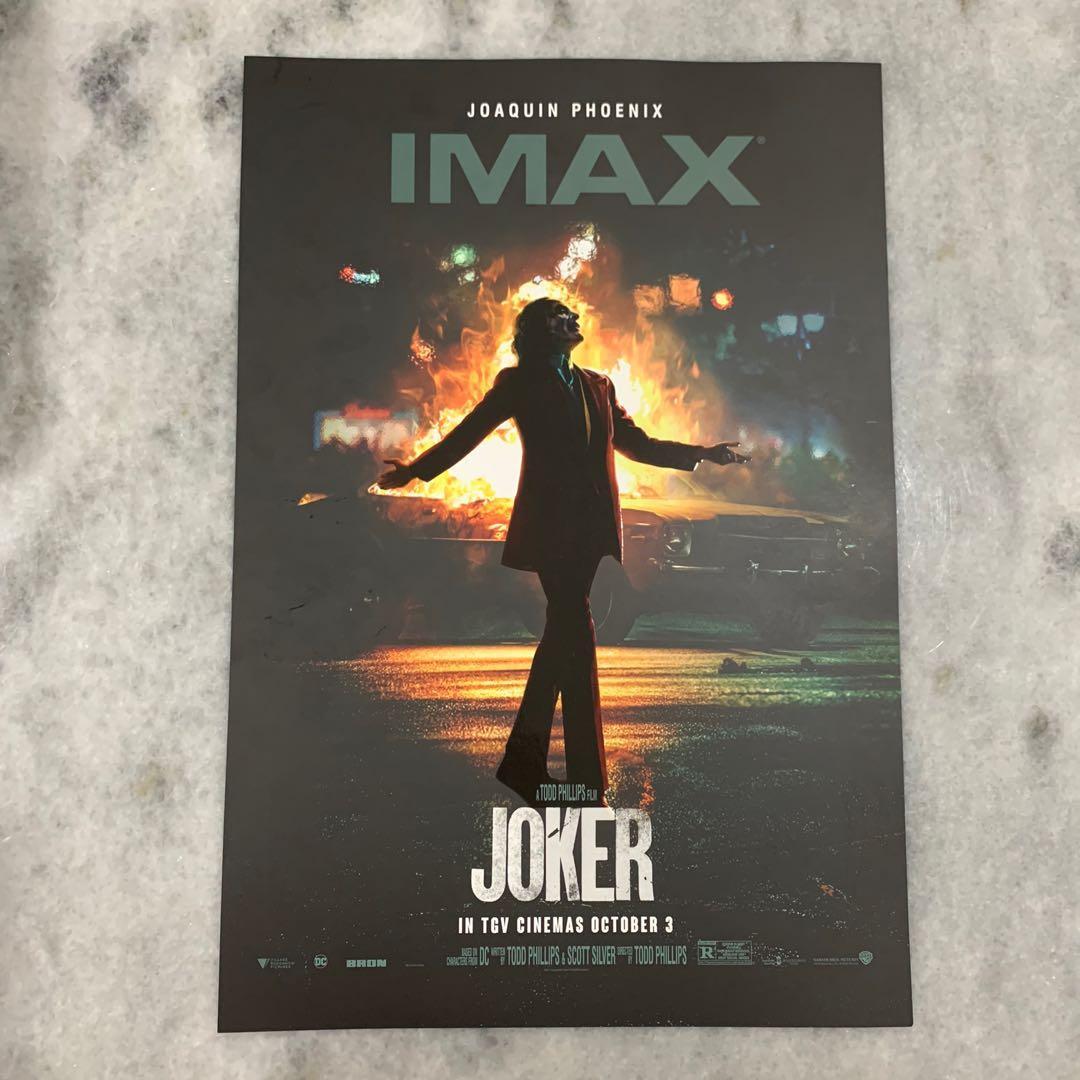 Joker IMAX Poster