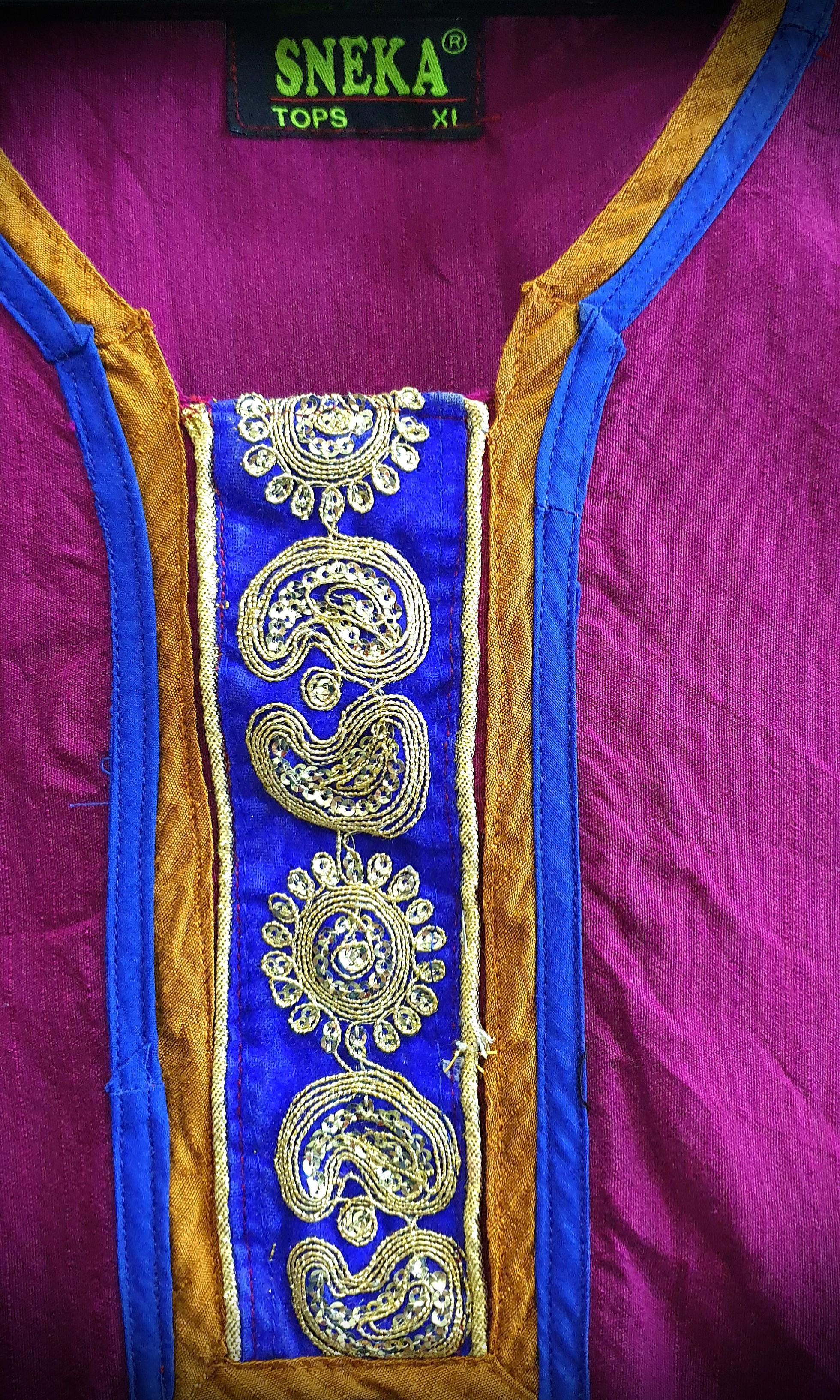 Kurti (Colour: Magenta)