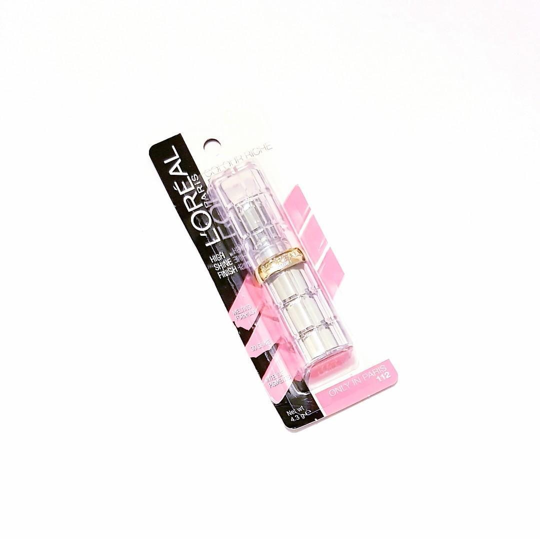 L'oréal Paris Colour Riche High Shine Finish Melting Formula Intense Pigment Addiction Lipstick