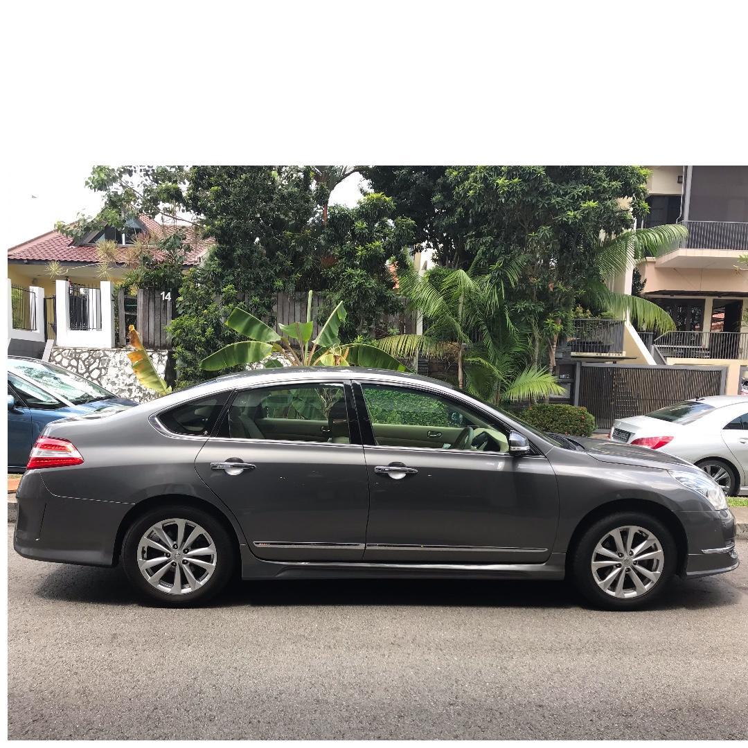 Luxury Sedan Nissan Teana Long Term Rental (Special Promotion)