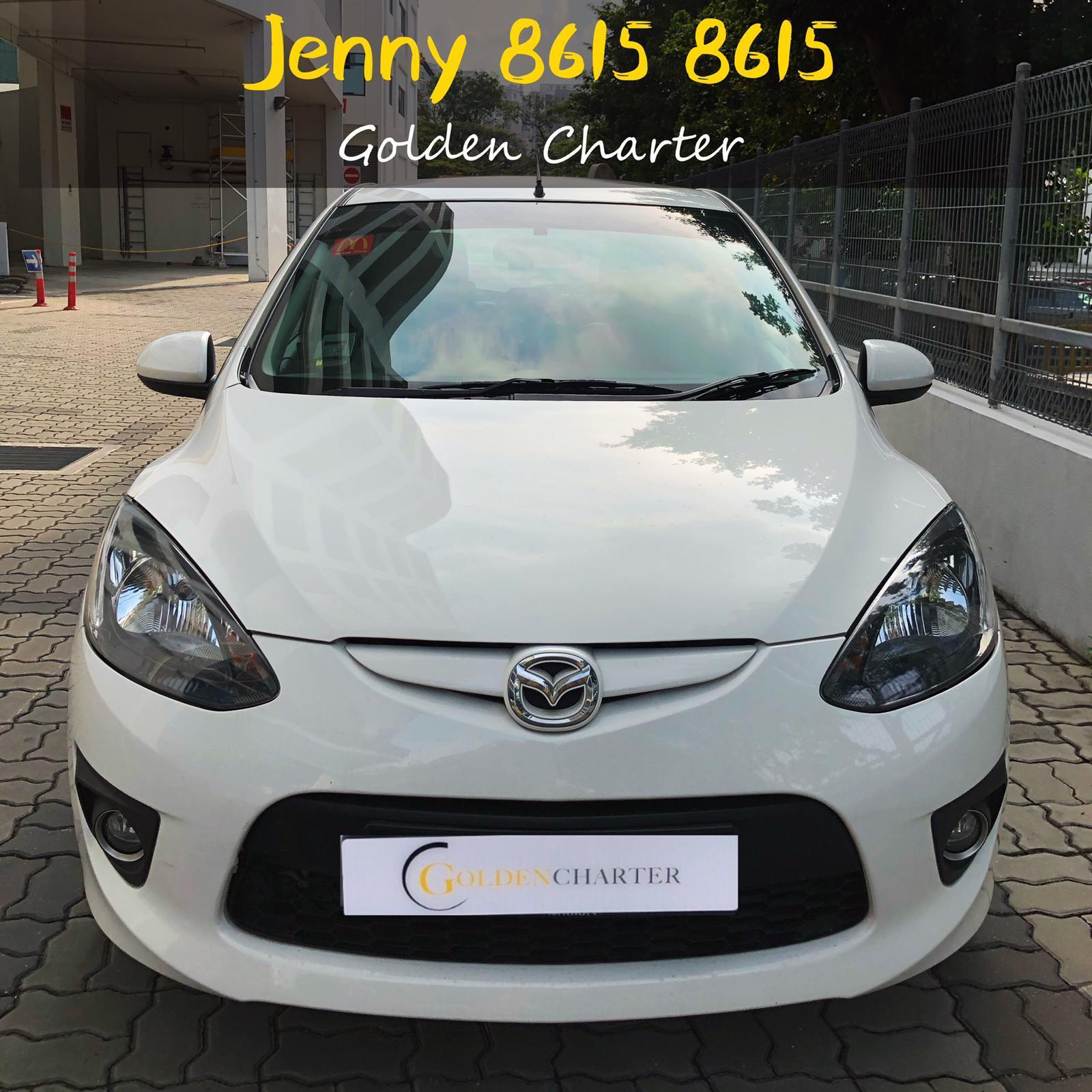 Mazda 2 $46 gojek rebate hatchback honda fit jazz toyota personal use,grab or gojek.phv ready stream wish mpv 7seater