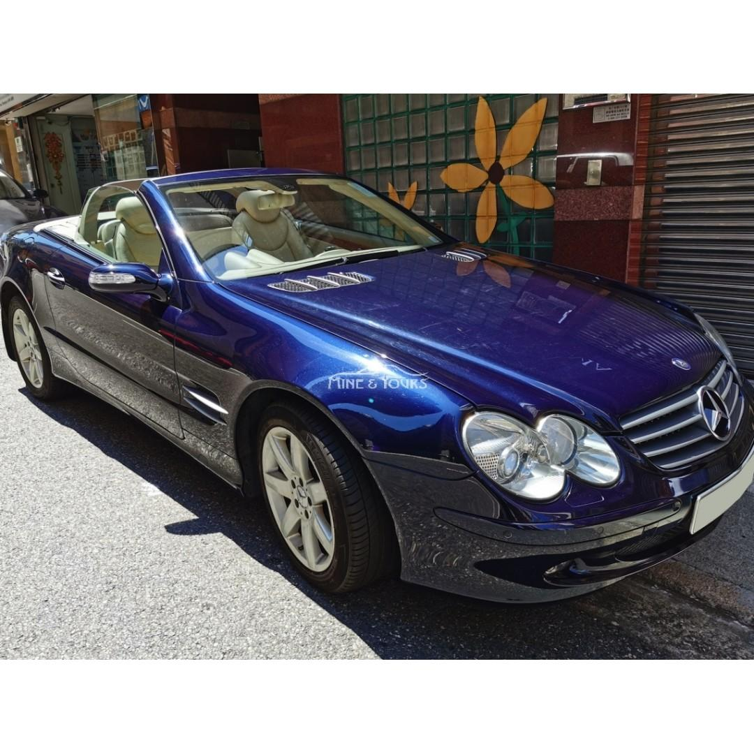 2005 MERCEDES-BENZ SL500 (2282)