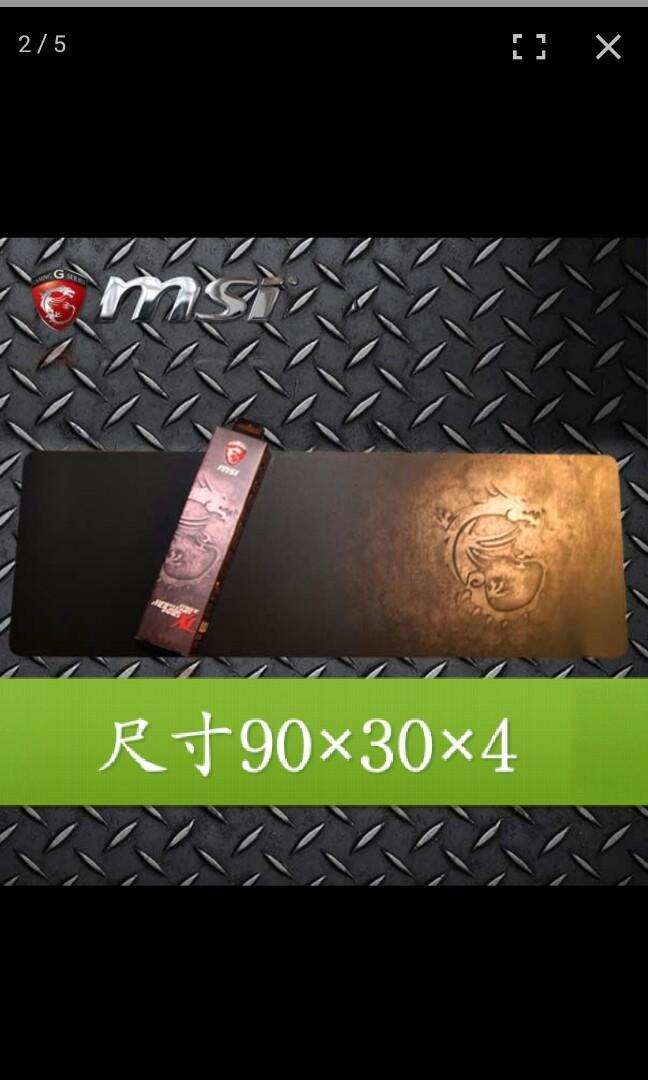 msi微星 滑鼠墊XL
