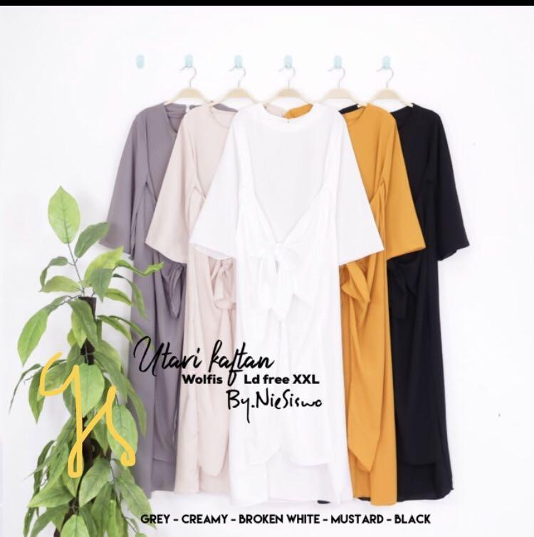 Muslimah kaftan dress style low-price