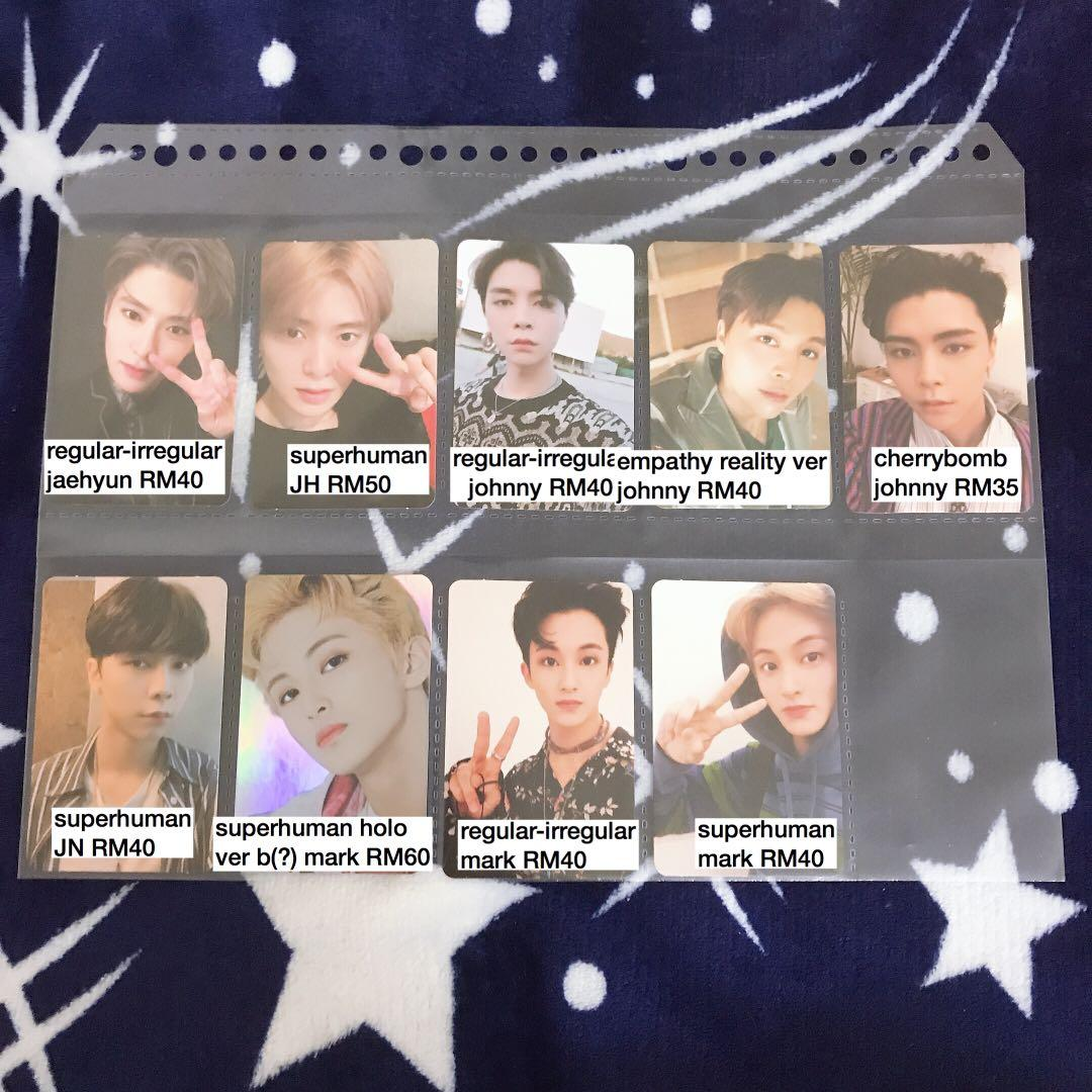 NCT Official Photocards