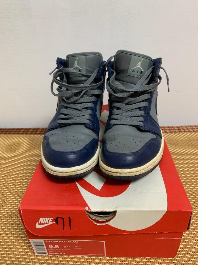 Nike air Jordan 1 mid aj1 us 9.5