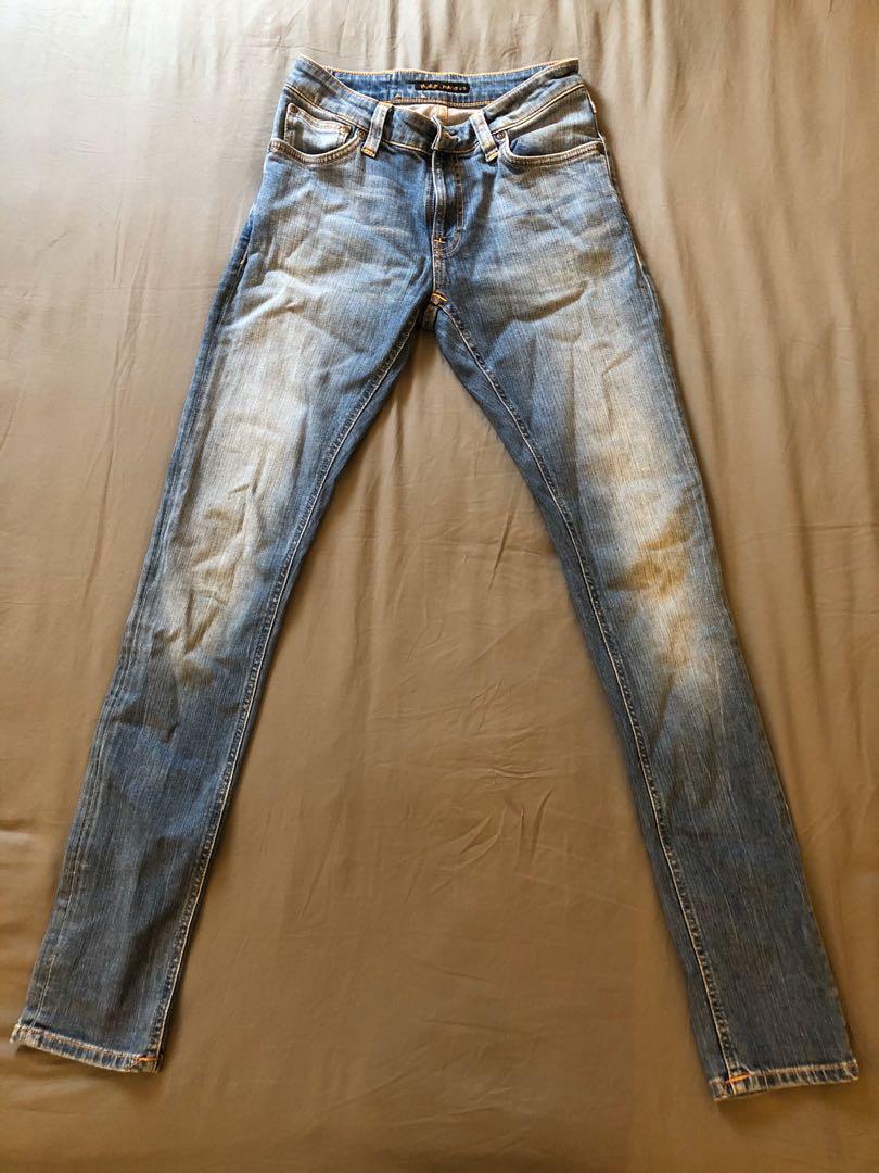 Small DefectsNew Nudie Slim Fit Jeans TrousersGrim TimB-Stock