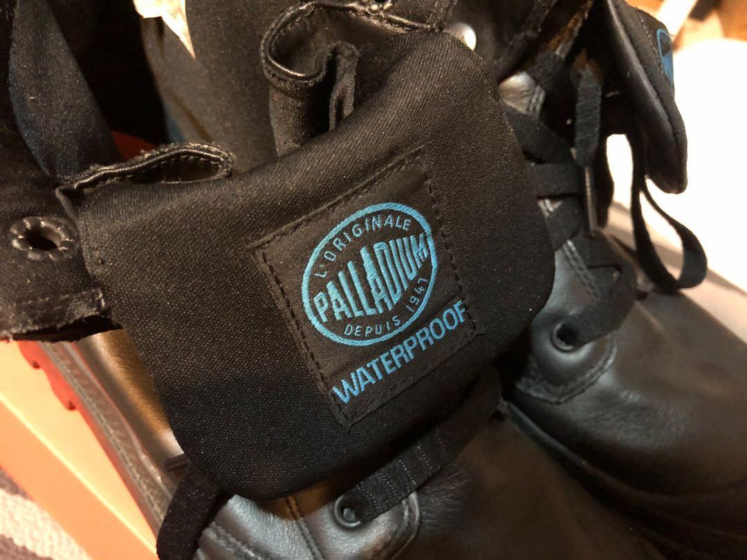PALLADIUM藍標防水靴子