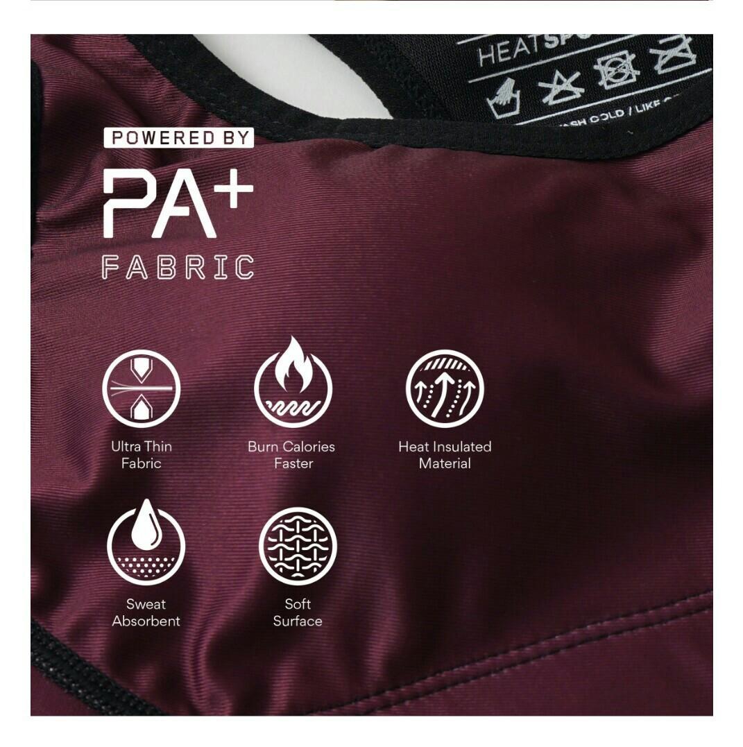 Panaz Heat Bra (Air Maroon) size 2XL