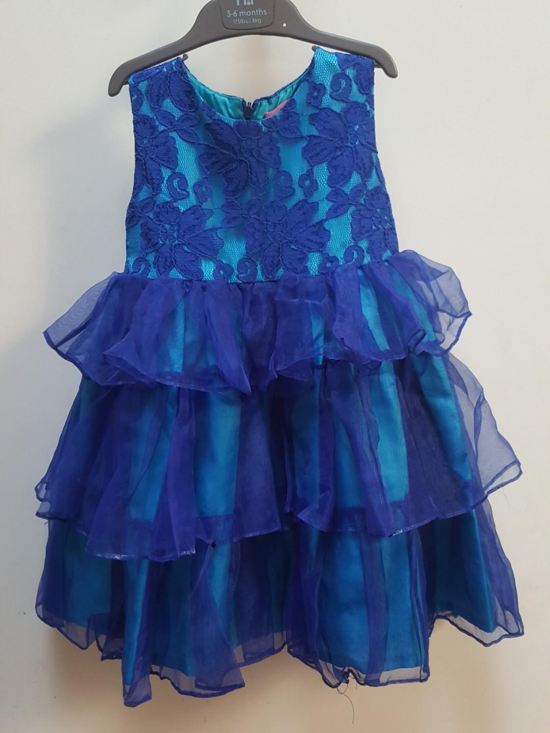 [Preloved] BLUE Gown