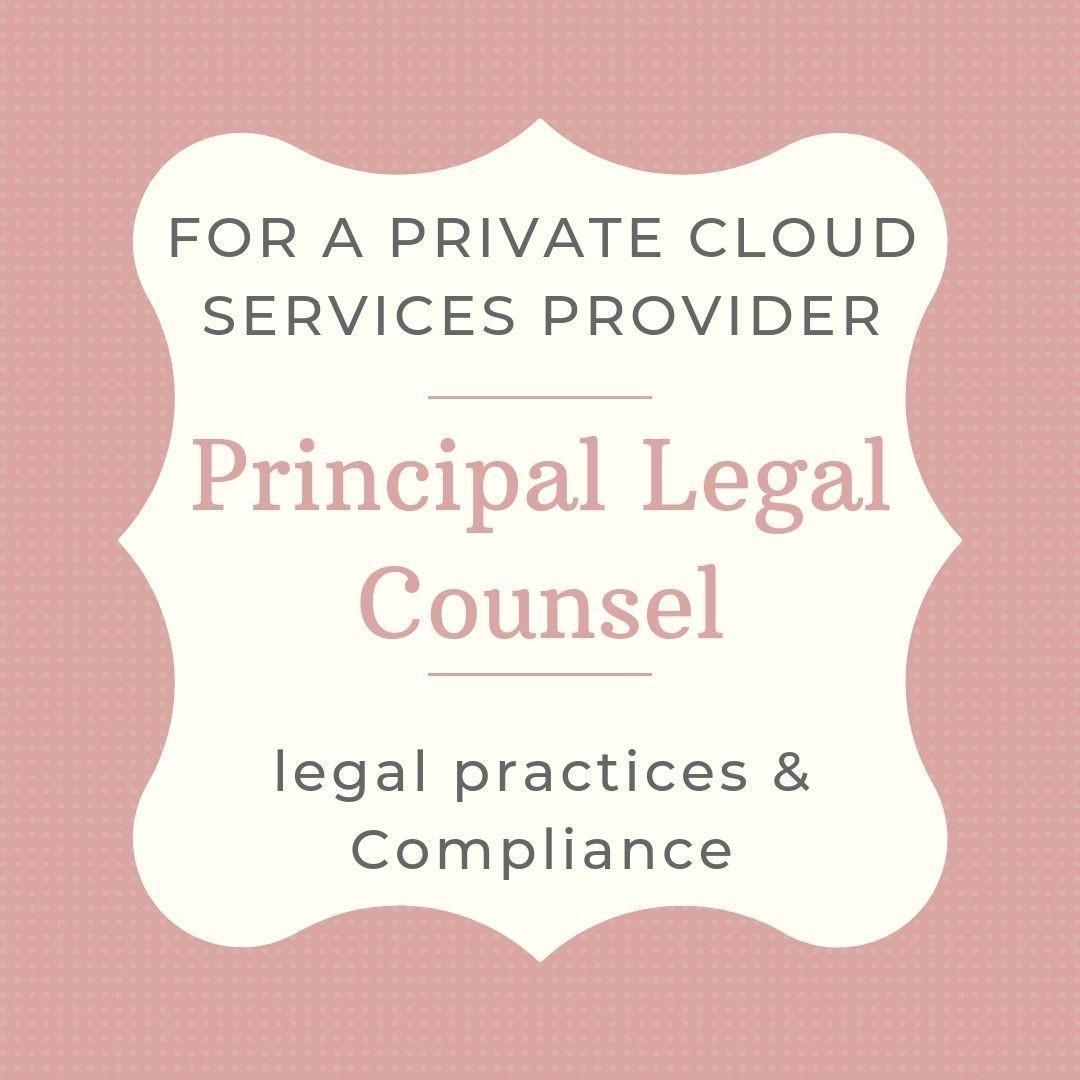 Principal Legal Counsel