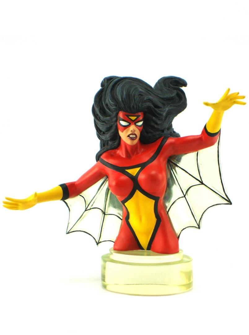 Rare Randy Bowen Spider Woman mini bust toy statue Spiderman