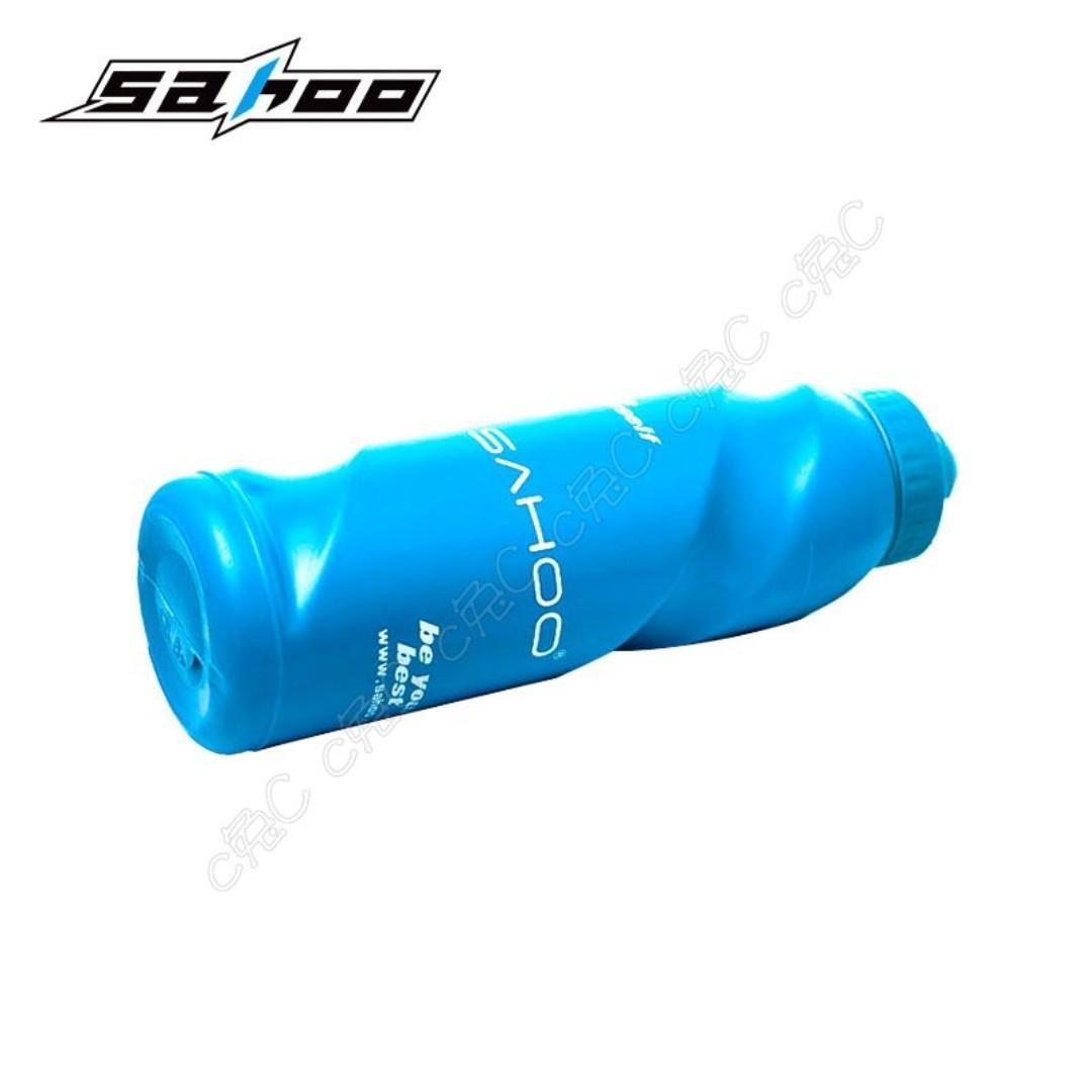 SAHOO-全新自行車2號HDPE擠壓式水壺 800ml單車水瓶 74mm腳踏車水杯