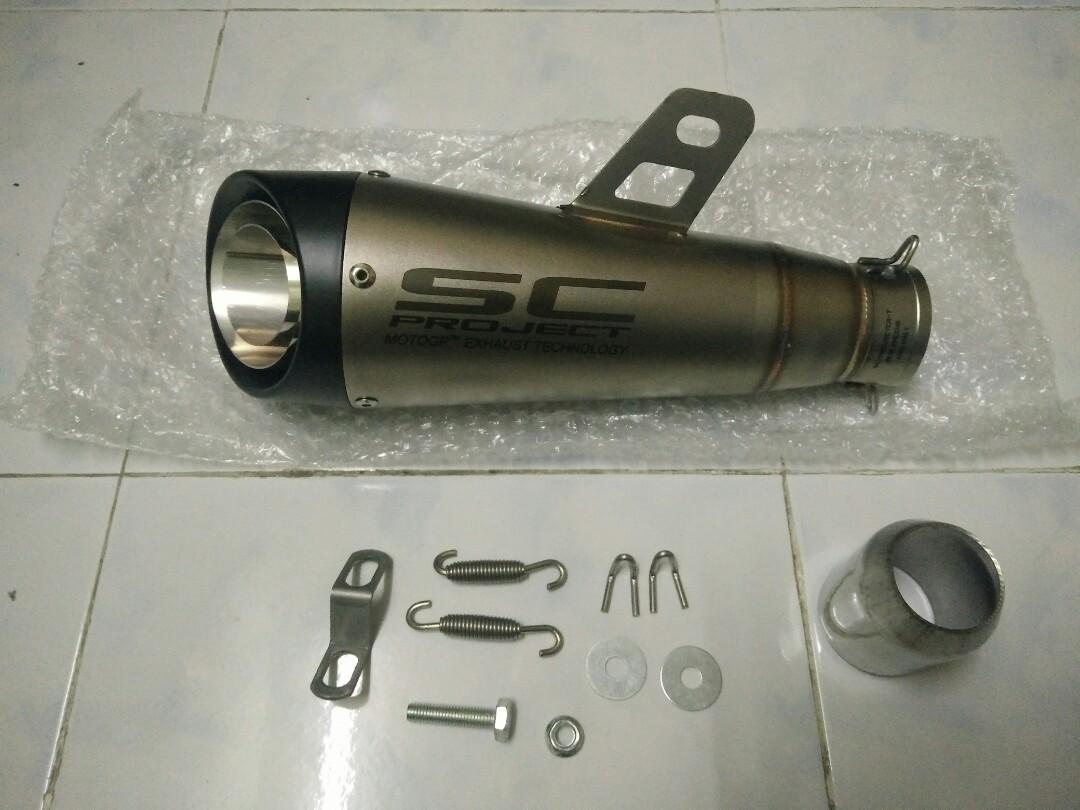 SC Project muffler slip on