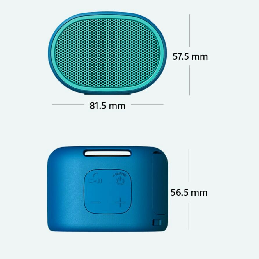 Sony 藍牙揚聲器 防水無線可攜式音箱 喇叭 SRS-XB01 Extra Bass Bluetooth wireless speaker (黑色 black)
