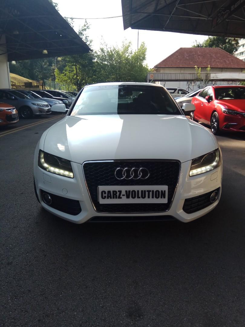 SPORTY COUPE AUDI A5 2.0TFSI QUATTRO S LINE FOR LEASING
