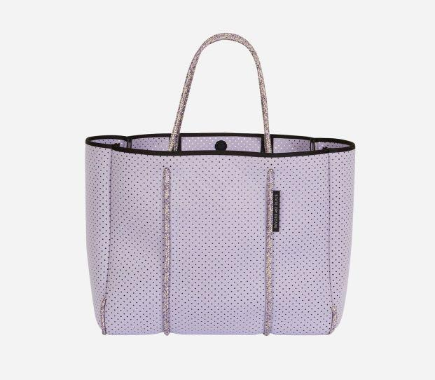 State of escape brand new Flying solo tote in  lavender