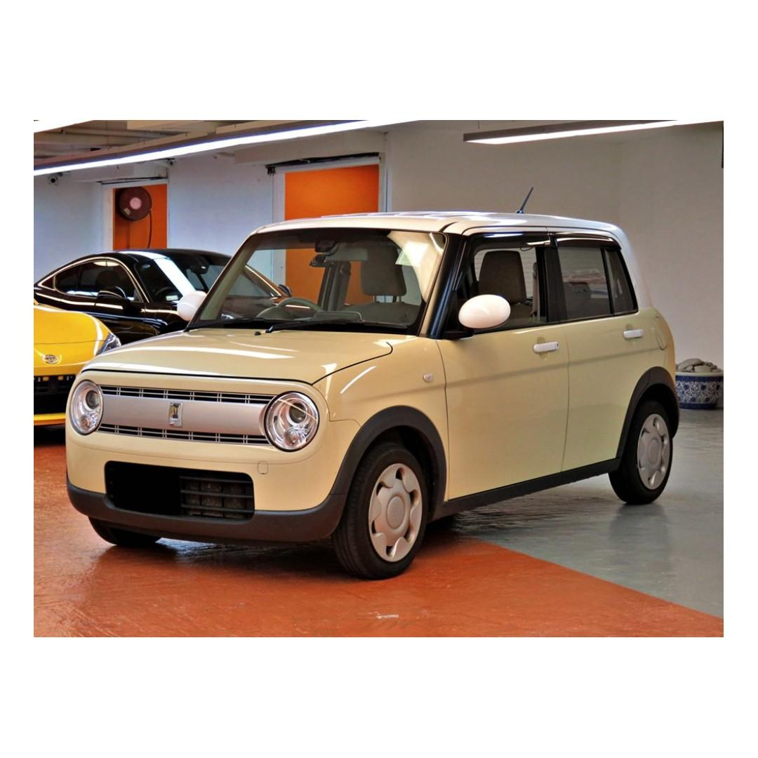 2015 Suzuki Alto Lapin