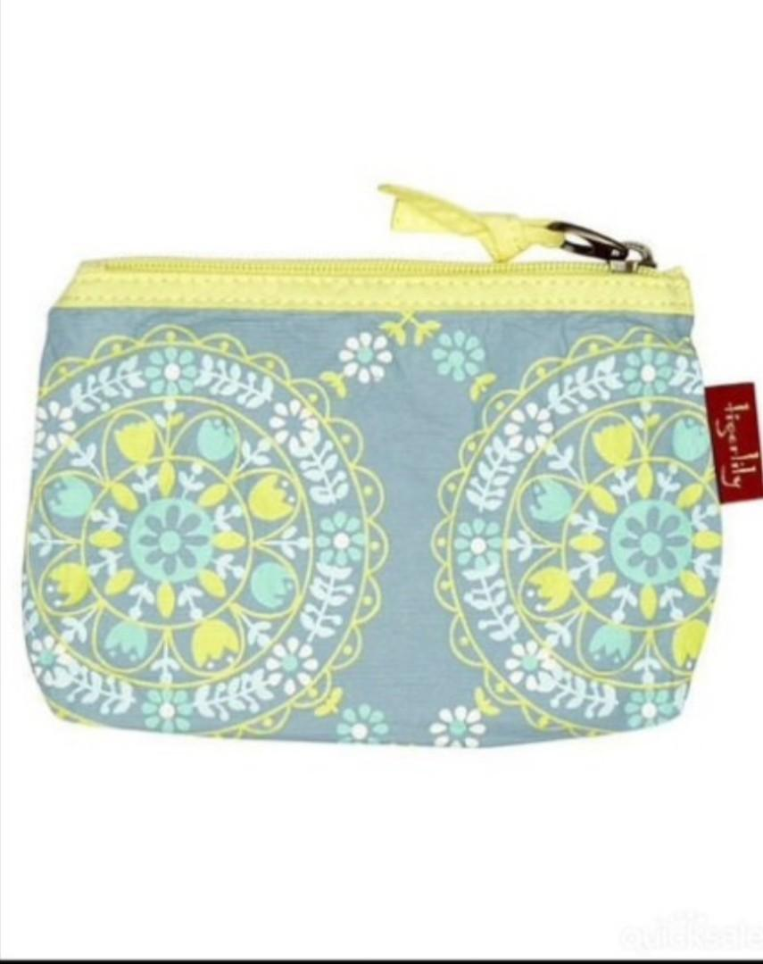 Tigerlily Hungarian Coin Purse or Makeup Pouch BNWT