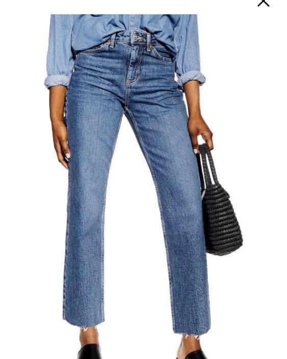 Top shop Straight Leg Jeans
