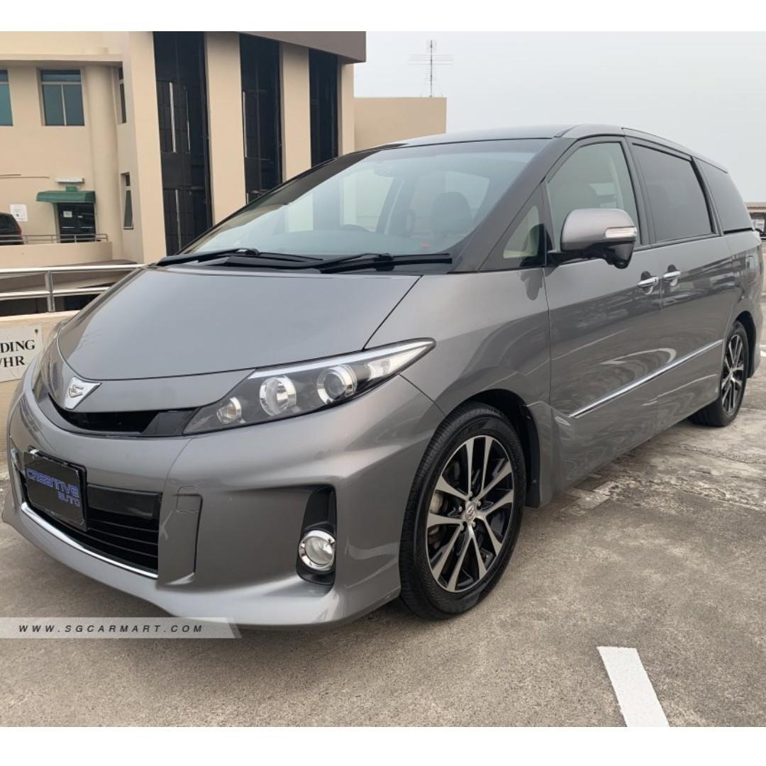 Toyota Estima 2.4 Aeras Premium 7-Seater Moonroof Auto