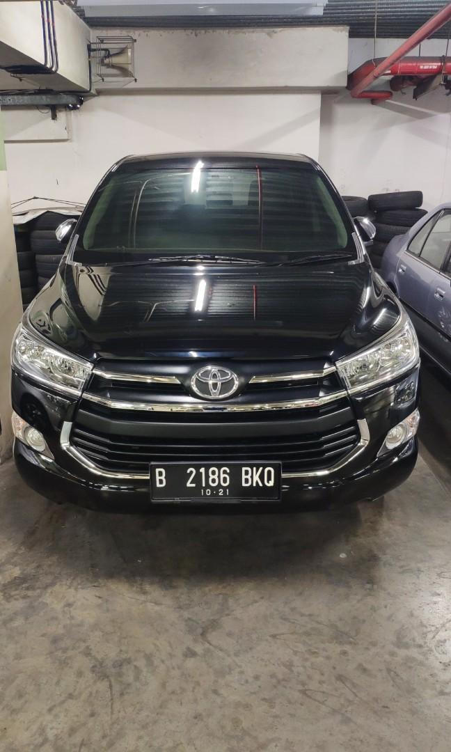 Toyota kijang Innova reborn G manual bensin 2016 mulus